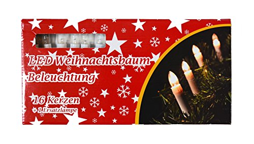 16er led weihnachtskerzen lichterkette weihnachtskette weihnachtsdeko weihnachtskerzen ohne. Black Bedroom Furniture Sets. Home Design Ideas